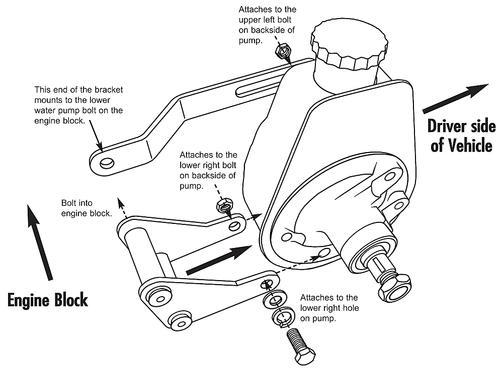 2002 Chevy Power Steering Pump Diagram
