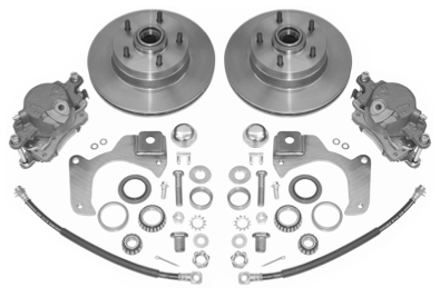 60-70 Chevy Truck, Disc Brake Conversion Kit, 4 75 bolt