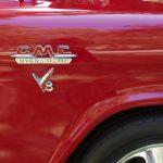 gmc v8 logo classic truck