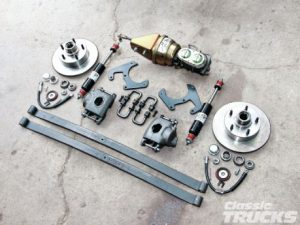 Ford Monoleaf Disc Brake Conversion Kit Installation