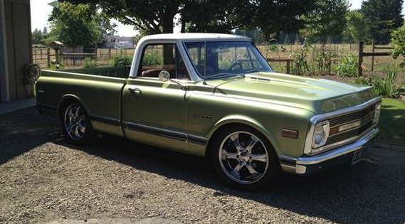 Scott's 1969 Chevy C10