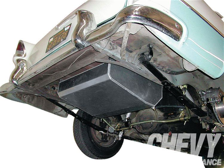 19-Gallon Aluminum Fuel Tank 49-54 Chevy Sedans