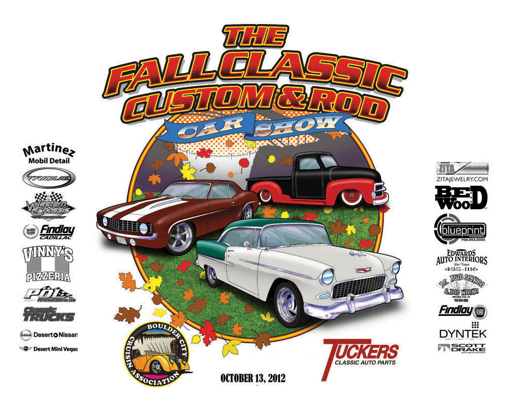 The Fall Classic Custom & Rod Car Show in Boulder City, NV