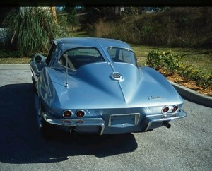 corvette sting ray - classic car wow factor