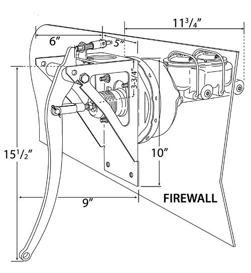 universal firewall brake pedal assembly diagram #bbf-uni ... brake pedal diagram