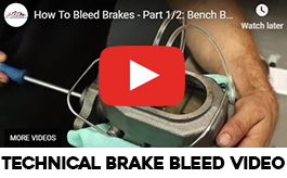 Brake Bleed Videos