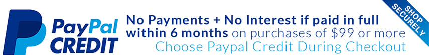 PayPal Credit - 6 Months no payment or interest