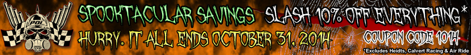 Spooktacular Savings - 10% OFF with Coupon Code 1014