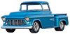 1955-59 CHEVY-GMC 2nd SERIES 3100 TRUCK