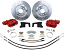 "POL - Disc Brake Conversion, Ford 9"" Rear End, 13"" Rotors"