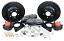 "1964-74 GM A, F & X body 13"" Baer Brakes Track4 Disc Brake Conversion"