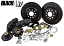 """1965-69 Ford Mustang 13"""" BLACKOUT Track 4 Disc Brake Conversion"""