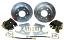 1963-70 CHEVY & GMC TRUCK 6-LUG REAR DISC BRAKE WHEEL KIT, PLAIN CALIPERS
