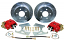 "Disc Brake Conversion Kit, GM 10-12 Bolt Rearend, 11"" Rotors"