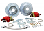 "1955-70 Chevy Belair Impala Rear Disc Brake Conversion Kit, OEM Rearend, 11"" Rotors"