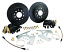 Black Out Rear Disc Brake Conversion Kit, GM 10-12 Bolt Rearend