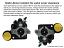 1967-69 Chevy Camaro Hydro Boost Power Brake Booster Kit, Black Wilwood Master Cylinder