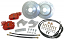 "1955-57 Chevy Belair Rear Disc Brake Conversion, OEM Rearend, 12"" Rotors"