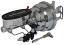 1955-57 Chevy Belair CHROME Power Brake Booster, Wilwood Master Cylinder