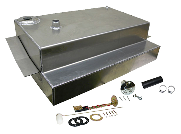 1973-87 Chevy Truck and GMC Truck Aluminum Fuel Tank Combo Kit, 19 Gallon, Bed Fill