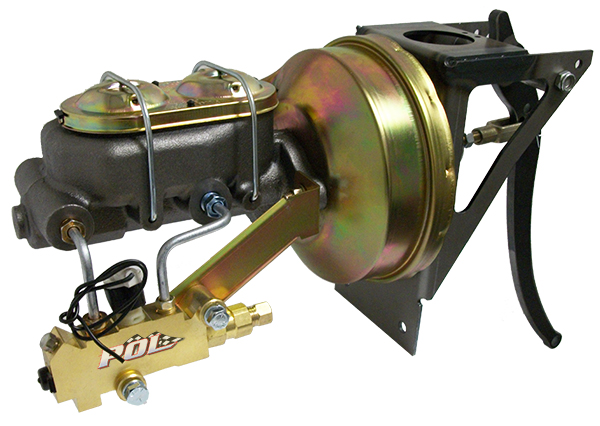 1954 55 1 First Series Chevy Truck Power Brake Booster Kit