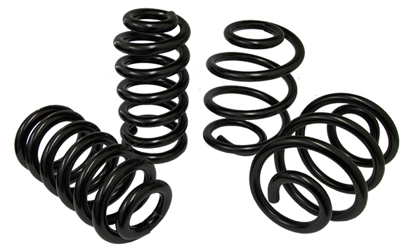 1963-72 Chevy C10 Truck Coil Spring Kit, Front and Rear