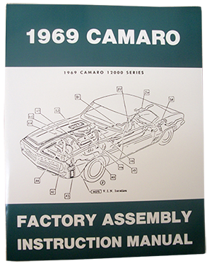 1969 chevy camaro factory assembly manual rh performanceonline com factory assembly manual for 1968 camaro factory assembly manual 1998 to 2002 firebird
