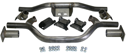 1947-59 Chevy-GMC-3100 Truck Deluxe V-8 Engine and Transmission Crossmember Kit with Mounts