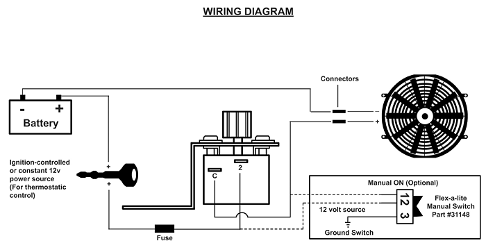 flex fan wiring diagram