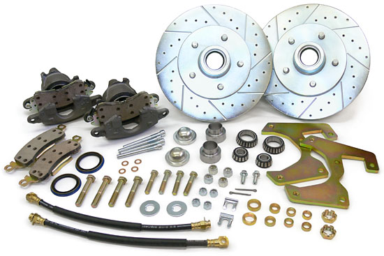 1947-59 Chevy & GMC truck disc brake conversion kit, 5-lug