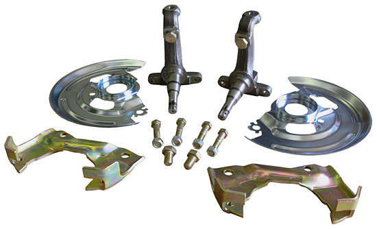 1964-72 GM A Body disc brake conversion kit with spindles!
