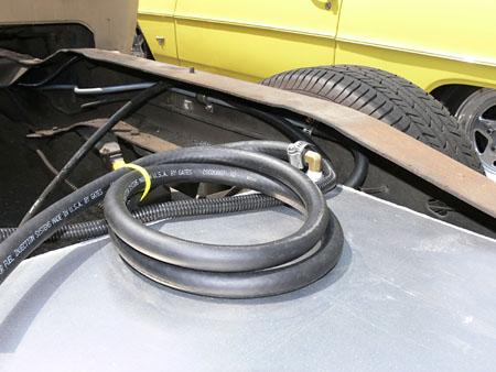 d 18649 1674 1973 87 chevy truck aluminum fuel gas tank combo kit, 19 gallon