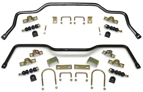 1955-57 CHEVY BELAIR/210/150/SEDAN, PERFORMANCE SWAY BAR KIT (FRONT & REAR)