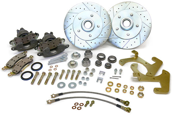 1953,57,58,59,60,61,62 Chevy Corvette disc brake conversion kit!