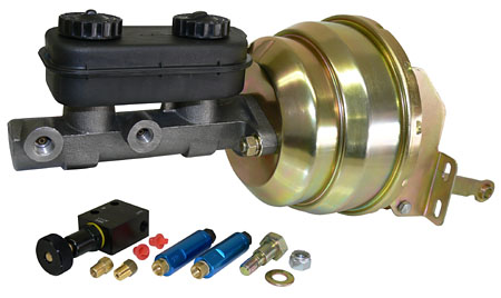 1963-74 Mopar power brake booster kit front view!