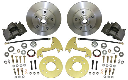 "1952-53 Mercury ""MERC"" car disc brake conversion kit!"