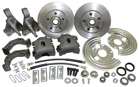 1963-68,69,70,71,72,73,74 Mopar front disc brake conversion kit!