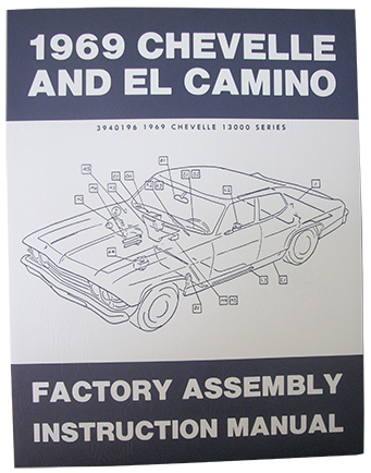 1969 chevy chevelle el camino factory assembly manual rh performanceonline com 1969 chevelle factory assembly manual factory assembly manual for 1968 camaro