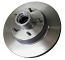 1967-70 Chevy Impala Disc Brake Rotor, Original Replacement for Factory Disc Brakes, Ea.