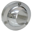 Steering Column Floor Board Mount, Ball Swivel Type, Polished Aluminum