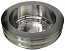 SMALL BLOCK CHEVY LWP CRANKSHAFT PULLEY, ALUMINUM 2 & 3 GROOVE