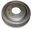 """Brake Drum, Front, Non Finned Type, 9.5"""" Diameter with 2.5"""" Wide Brake Shoe"""
