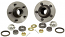 1955-58 BELAIR, ROLLER BEARING CONVERSION KIT (RBK5558)