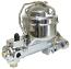 Chrome GM Drum Brake Single Reservoir Master Cylinder