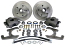 1937-47 Ford Truck Front Disc Brake Conversion Kit, 5-Lug 19714