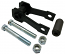 1957-60 FORD F100 TRUCK, REAR SPRING SHACKLE KIT (SHK5760RS)