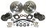 1964-66 Ford Falcon Disc Brake Conversion Kit, Front 4-Piston Calipers