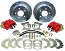 MOPAR, Chrysler, Plymouth and Dodge 8-3/4 Rear Disc Brake Conversion Kit 19798