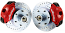 1960-87 Chevy C10 Truck Disc Brake Conversion Kit, Wilwood Caliper, Stock or Drop Spindle, 5 or 6 Lug