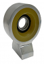 Driveshaft Carrier Bearing With PolyUrethane Insolator, Billet Aluminum, 1958-64 Chevy Impala and 1963-72 Chevy Truck